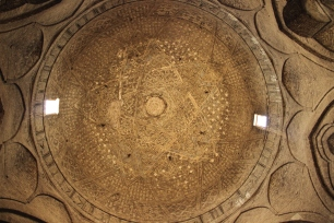 Ceiling of the oldest Mosque in Isfahan